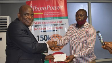 Photo of IBOM POWER GIVES N1MILLION TO IKPA IBEKWE YOUTHS