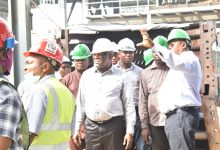 Photo of IBOM POWER'S BOARD INSPECTS ONGOING PLANT MAINTENANCE