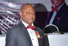 Photo of ICSAN HOLDS INVESTITURE FOR NEW CHAIRMAN