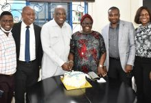 Photo of IBOM POWER MD MARKS 6 YEARS IN POWER SECTOR OFFICE
